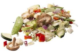 roerbakgroenten, gesneden groenten & kiemen