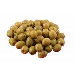 Olijven groen knoflook bio/125 gr