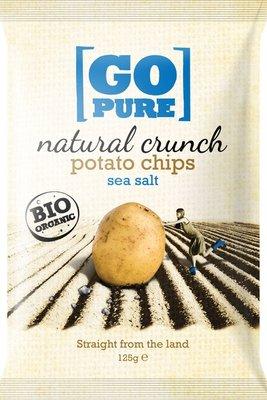 chips naturel crunch - 125 gram