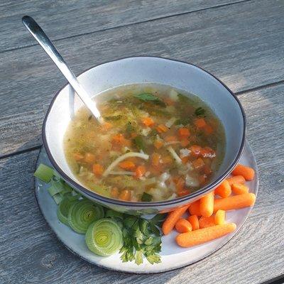 vers groentesoep pakket vegetarisch - 4 personen