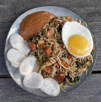 noodles goreng tofu (vega)
