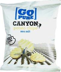 chips naturel canyon ribbel - 125 gram