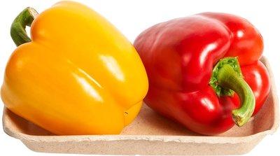 paprika duo - 1 gele + 1 rode