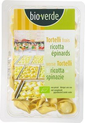 verse tortelli met ricotta en spinazie - 250 gram