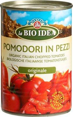 tomatenstukjes (pomodori in pezzi) - 400 gram