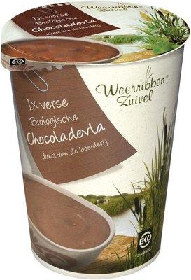 bio vla chocolade - 500 gram
