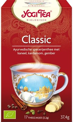 yogi tea classic thee - 17 builtjes