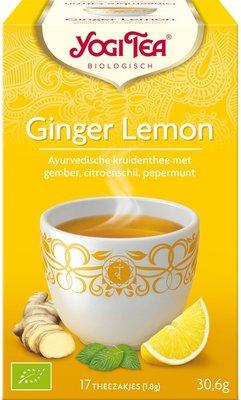 yogi tea ginger lemon thee - 17 builtjes