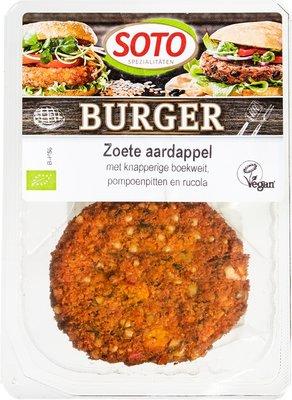 zoete aardappelburger - 160 gram