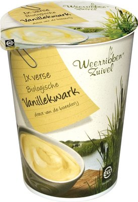 kwark vanillekwark - 500 gram