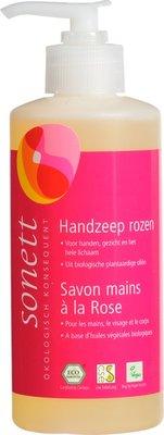 handzeep rozen sonett - 300 ml