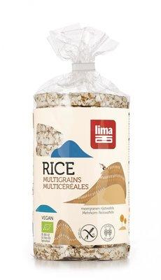 rijstwafels meergranen - 100 gram