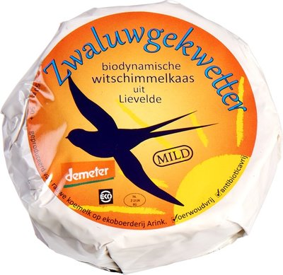 kaas zwaluwgekwetter mild demeter - 150 gram