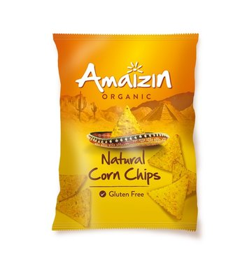 chips natural corn chips - 250 gram