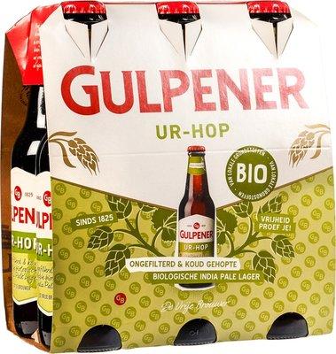 bier - ur-hop - gulpener - 6-pack
