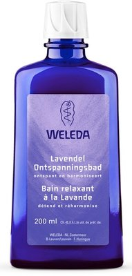 bad - lavendel ontspanningsbad - weleda - 200 ml
