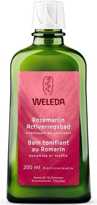 bad - rozemarijn activeringsbad - weleda - 200 ml