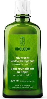 bad - zilverspar verkwikkingsbad - weleda - 200 ml