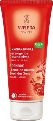 douche - granaatappel verzorg douchecreme - weleda - 200 ml