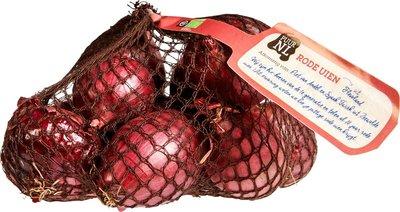 uien rood - 500 gram