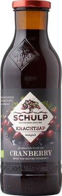 schulp krachtsap cranberry - 750 ml