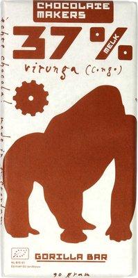 chocoladereep melk 37% - gorilla - 90 gram