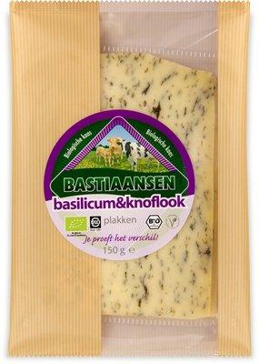 kaas plakjes basilicum-knoflook - 150 gram