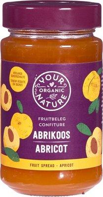 jam abrikoos - your organic nature - 250 gram