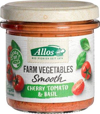 tomaat- en basilicumspread (cherry tomato and basil) - 140 gram