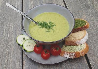 courgettesoep (vegan)