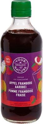 diksap appel-framboos-aardbei - 400 ml