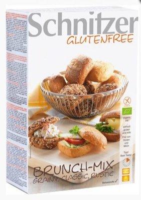 brunch-mix glutenvrije afbakbroodjes