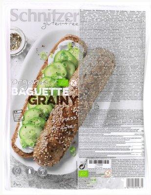 baguette grainy glutenvrije afbakbroodjes