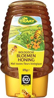 bloemenhoning knijpfles - 375 gram