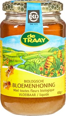 bloemenhoning vloeibaar - 450 gram