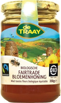 bloemenhoning fairtrade - 350 gram