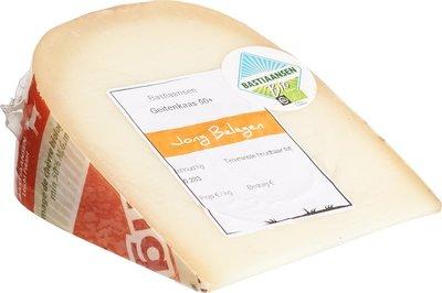 kaas geitenkaas jong belegen 50+ - 300 gram (afwijking 50 gram)
