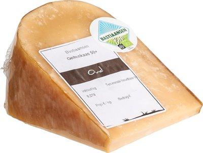 kaas geitenkaas oud 50+ - 250 gram (afwijking 50 gram)