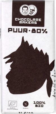chocoladereep puur 80% - awajun - 90 gram