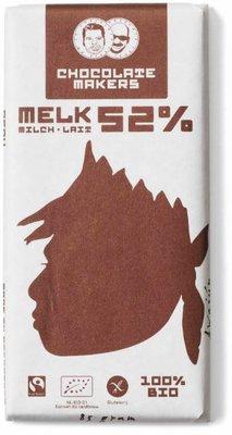 chocoladereep melk 52% - awajun - 90 gram