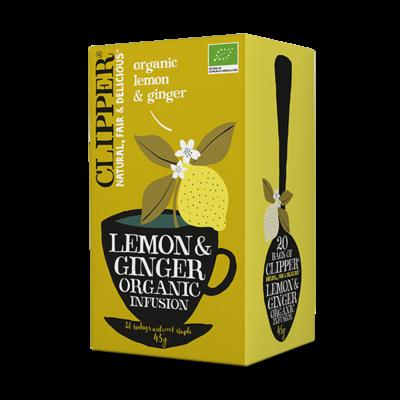 clipper lemon & ginger thee - 20 builtjes