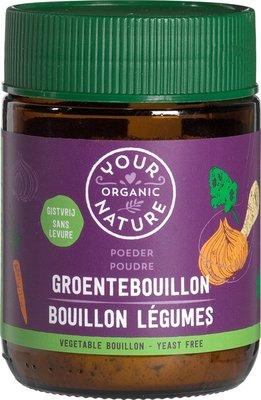 bouillonpoeder groente zonder gist - 150 gram