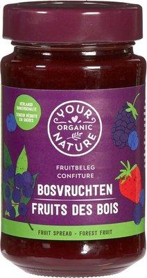 jam bosvruchten - your organic nature - 250 gram