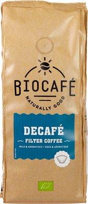 biocafe filterkoffie decafe - 250 gram