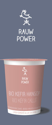 rauw power - kefir hangop - 500 ml