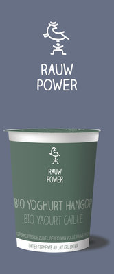 rauw power - yoghurt hangop - 500 ml