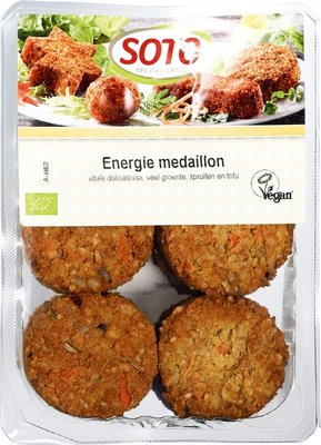 vegan energie medaillon - 250 gram