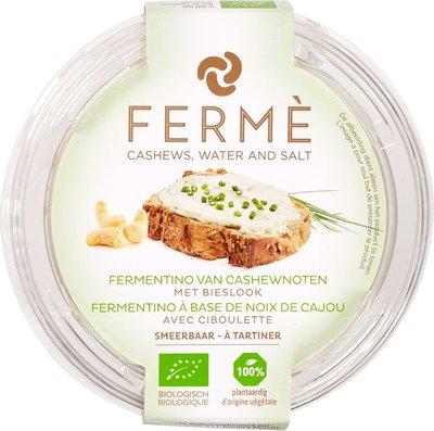 vegan cashew fermentino spread bieslook - 100 gram
