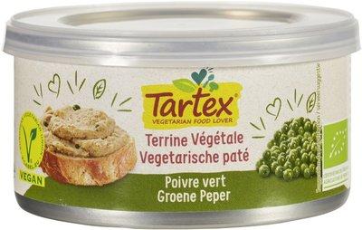 vegan pate groene peper - 125 gram
