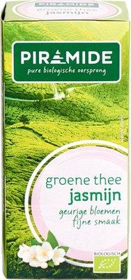 piramide - groene thee jasmijn - 20 builtjes
